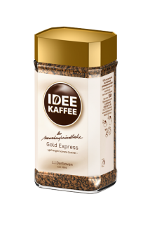 IDEE KAFFEE Gold Express instant 100g sklo